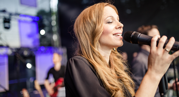 Sängerin Dorothea Winter
