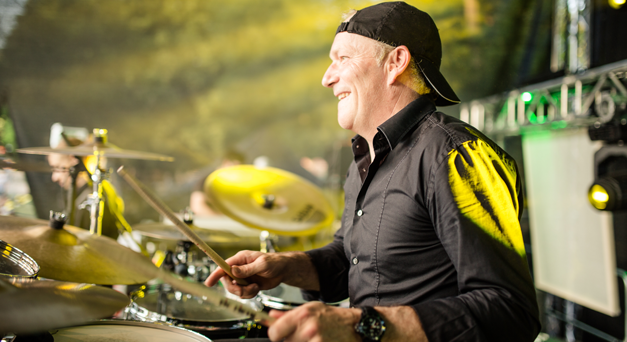 Drummer Klaus Winter