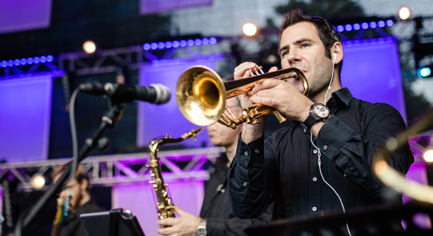 Trompeter Christian Follmann