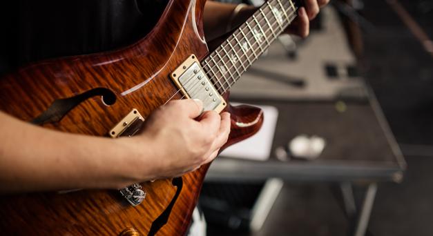 Gitarrist Michael Schirp